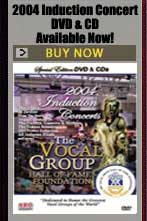 Induction Concert CD's and DVD's Available Now.
