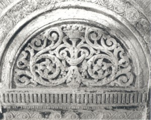 The intricate plaster that once decorated The Columbia Theatre
